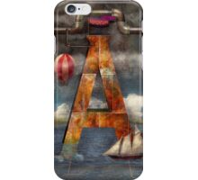 Steampunk - Alphabet - A is for Adventure iPhone Case/Skin