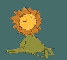 The Happy Sunflower by ratswearinghats