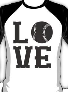 Baseball Love 2 T-Shirt