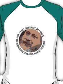 Stallman Icon Bubble T-Shirt