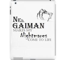 Nightmares iPad Case/Skin