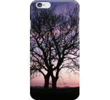Two Trees embracing iPhone Case/Skin