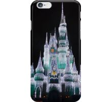 Cinderella's Castle Disney World 2014 Christmas Lights iPhone Case/Skin