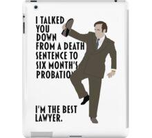 Jimmy: The Best Lawyer iPad Case/Skin
