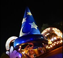 Hollywood Studios Sorcerer's Hat by halfaheart