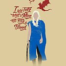 Game of Quotes- Daenerys by spacemonkeydr