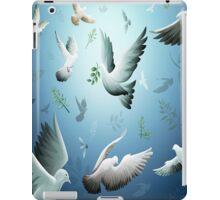 white-doves iPad Case/Skin