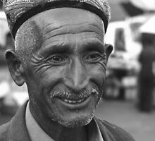 Uyghur grandfather by culturequest