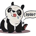 Panda Raspberries  by Kristen Rimmel