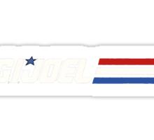 G.I. Joel Sticker