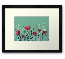 Summer Field Framed Print