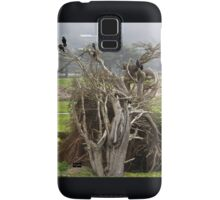 Crows, a Cypress Tree and a Golf Course Samsung Galaxy Case/Skin