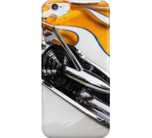 1957 Chevrolet in Flames iPhone Case/Skin