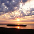 Lake Erie Sunset by Kathy Weaver