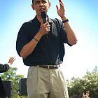 Obama at Keehi by Greg Kolio Taylor