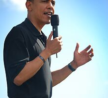 Barrack Obama in Hawaii by Greg Kolio Taylor