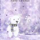 Winter polar bear by louise prentice