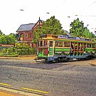 Tram at artcentre by rosswilliams