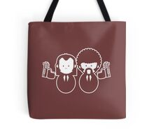 Pulp Fiction Vince & Jules Cartoons Tote Bag
