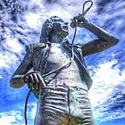 Bon Scott Statue -  HDR - Fremantle WA by Colin  Williams Photography