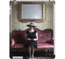 40s lady iPad Case/Skin