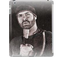 Viking in York #20, Ragnar the axeman relaxing iPad Case/Skin