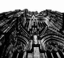 Cologne Cathedral... by Joseph Campbell