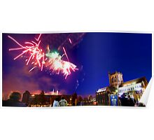 Paisley Abbey Panorama 1 Poster