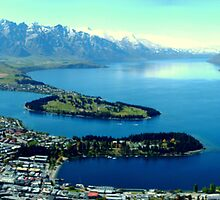 Queenstown Panorama by Luke Meers