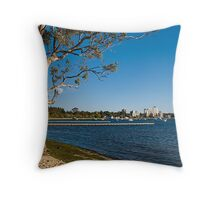 Crawley Bay, Perth Western Australia Throw Pillow