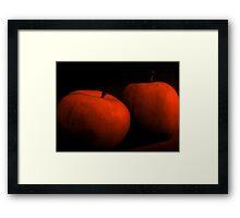 Red Apples Framed Print