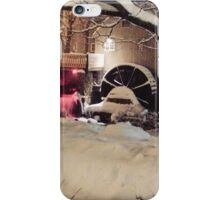 Historic Jenny Grist Mill Plymouth Massachusetts iPhone Case/Skin