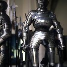 Armor of medieval knights  by cascoly