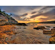 Ripples - Balmoral Beach - The HDR Experience Photographic Print