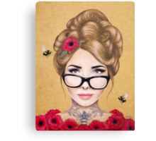 Blood Honey Canvas Print