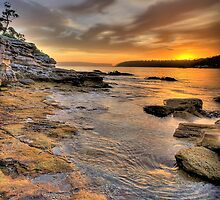 Sunrise Portrait - Balmoral Beach - The HDR Series by Philip Johnson