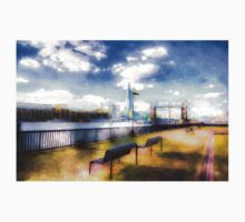 River Thames View Art Kids Clothes