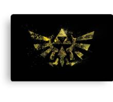 The Golden Power - Triforce Canvas Print