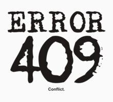 Error 409. Conflict. by FrontierMM