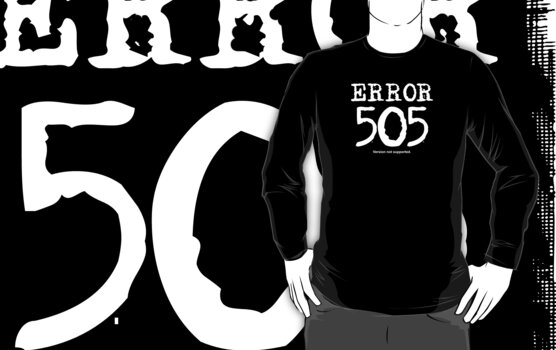 Error 505. Version not supported. by FrontierMM