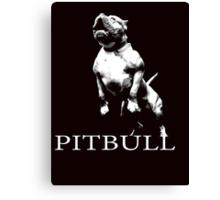 american pitbull Canvas Print