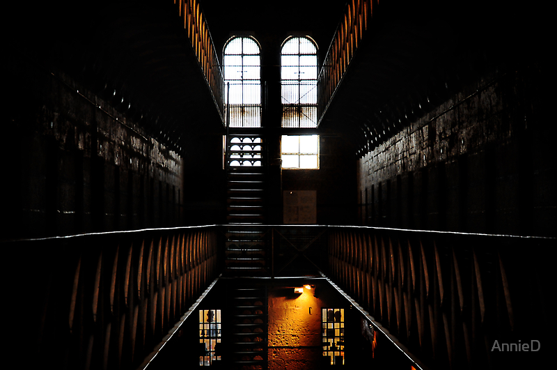 Old Melbourne Gaol by AnnieD