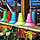 Colorful snow Cone Cups by shonanthebeach