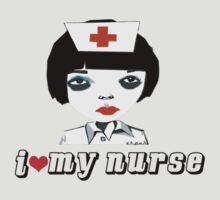 I Love my Nurse by ekpuk