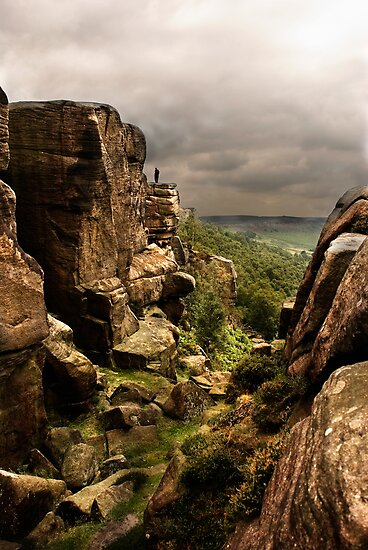 Curbar Edge by Paul Woloschuk