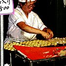 Making Tako Yaki   Octopus Balls in Dough by shonanthebeach