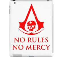 No rules Assassins Creed Black Flag iPad Case/Skin