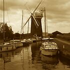 Horsey Windpump, Norfolk by newbeltane