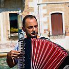 Gondolier Musician by Andre Gascoigne