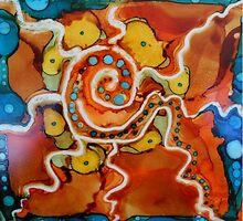 Swirly Swirls Blips & Blops by ArtfulEarth